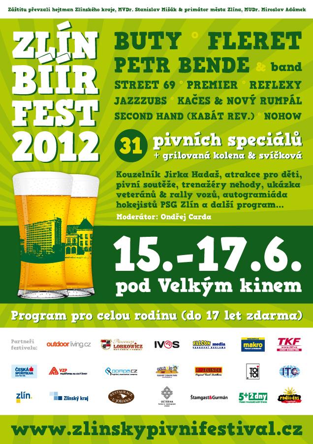 ZlínBíírFest 2012 - plakát